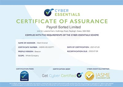 Cyber Certificate